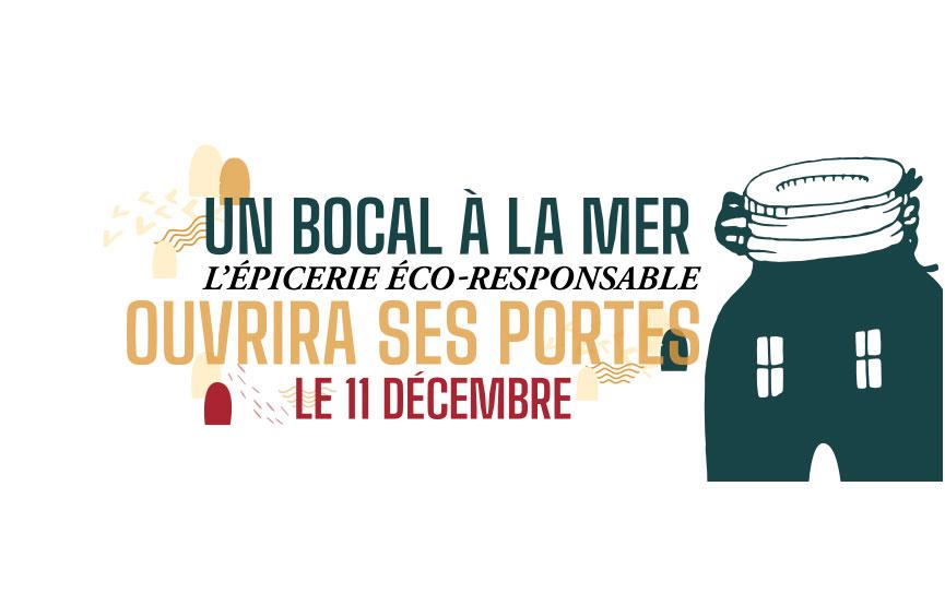 JN-Rédaction Web s'occupe du community management de l'épicerie éco-responsable Un Bocal à la Mer à Plérin dans le 22