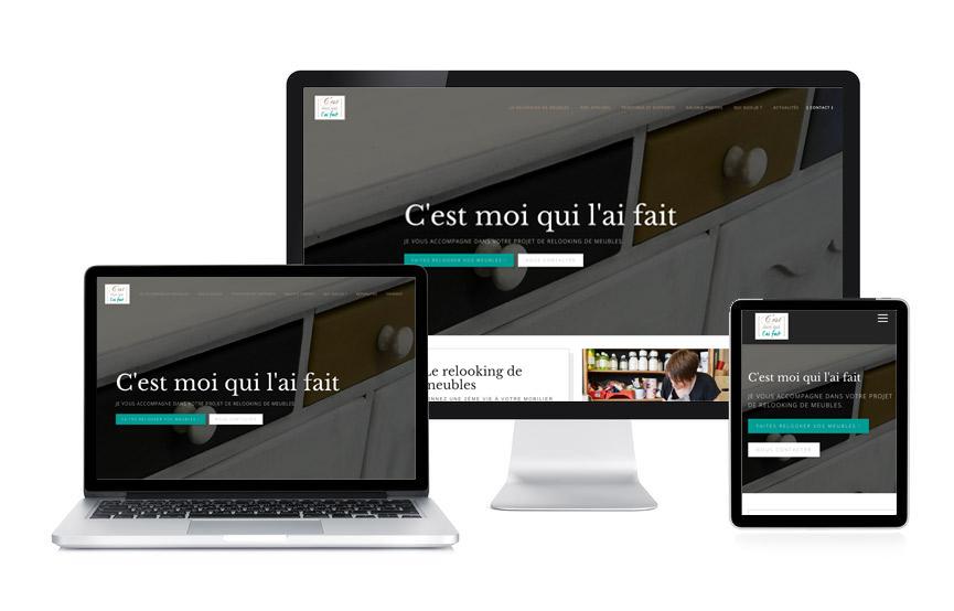 JN-Rédaction Web a rédigé le contenu web et a réalisé le site Wordpress de c'est moi qui l'ai fait à Nivillac.
